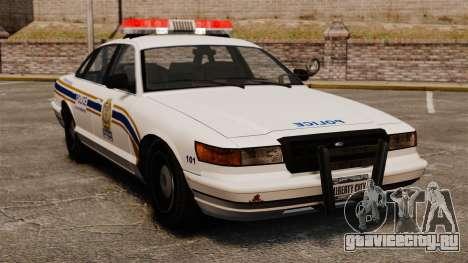 Полиция Шербрука для GTA 4