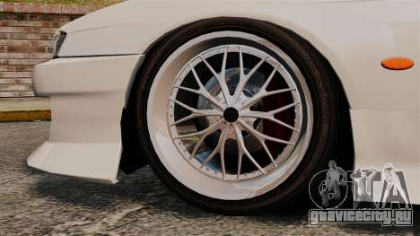Nissan Silvia S14 для GTA 4 вид справа