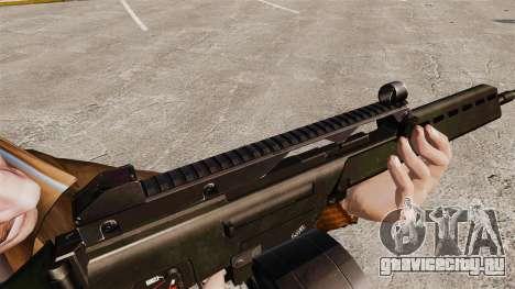 Штурмовая винтовка H&K MG36 v2 для GTA 4 четвёртый скриншот