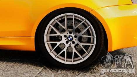 BMW 1M Coupe 2011 Fujiwara Tofu Shop Sticker для GTA 4 вид изнутри