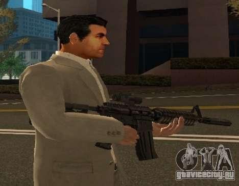 Скин Майкла из GTA V для GTA San Andreas третий скриншот