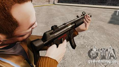 Пистолет-пулемёт MP5SD v5 для GTA 4 второй скриншот
