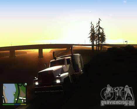 ENB for low PC для GTA San Andreas второй скриншот