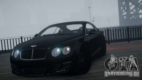 Bentley Continental GT Hamann Imperator для GTA 4 вид справа