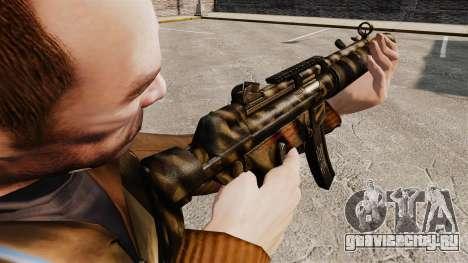 Пистолет-пулемёт MP5SD v7 для GTA 4 второй скриншот