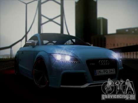 Audi TT RS 2013 для GTA San Andreas вид сзади слева