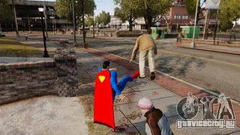 Скрипт Супермэн для GTA 4 третий скриншот