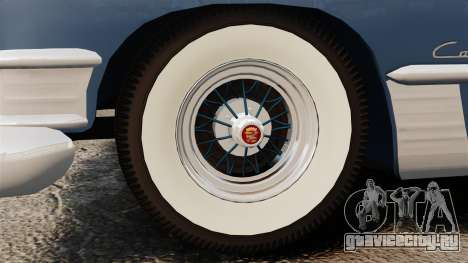 Cadillac Series 62 convertible 1949 [EPM] v3 для GTA 4 вид сзади
