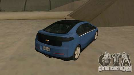 Chevrolet Volt 2011 [ImVehFt] v1.0 для GTA San Andreas вид справа