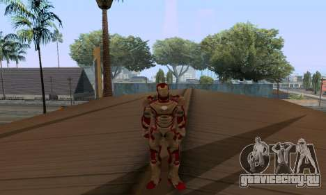 Skins Pack - Iron man 3 для GTA San Andreas