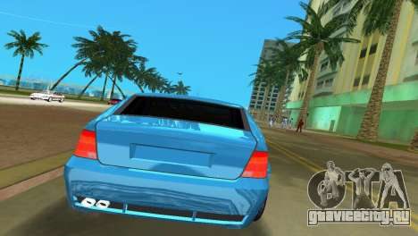 Volkswagen Bora для GTA Vice City вид справа