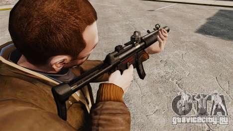 Пистолет-пулемёт MP5SD v2 для GTA 4 второй скриншот