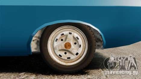 Dacia 1310 Sport v1.2 для GTA 4 вид сзади