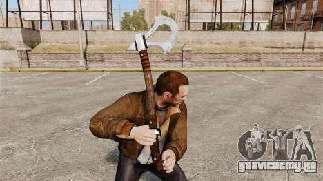 Томагавк для GTA 4 второй скриншот