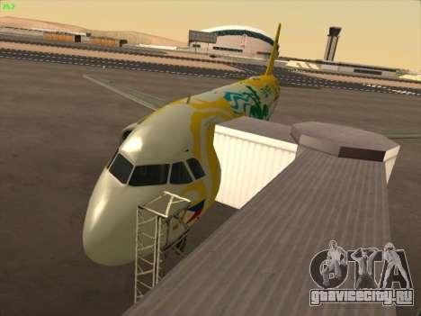 Airbus A320-211 Cebu Pacific Airlines для GTA San Andreas