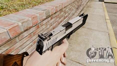 Самозарядный пистолет H&K USP v6 для GTA 4 второй скриншот