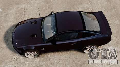 Ford Mustang Shelby GT500KR 2008 для GTA 4 вид справа