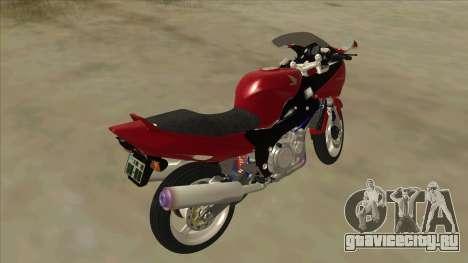 Honda CBR1100XX для GTA San Andreas вид сзади слева