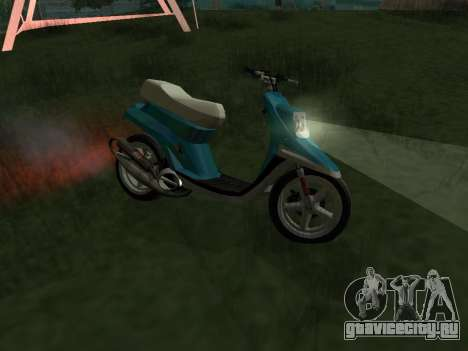 MBK Booster Spirit для GTA San Andreas вид слева
