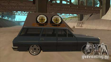 New Peren Hellaflush для GTA San Andreas вид сзади слева