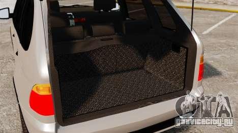 BMW X5 4.8iS v2 для GTA 4 вид изнутри
