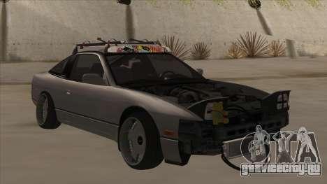 Nissan 240SX Rat для GTA San Andreas вид слева