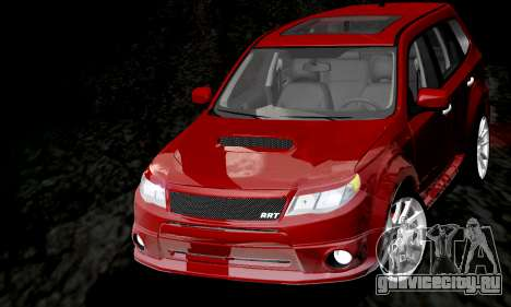 Subaru Forester RRT Sport 2008 v2.0 для GTA San Andreas вид сбоку