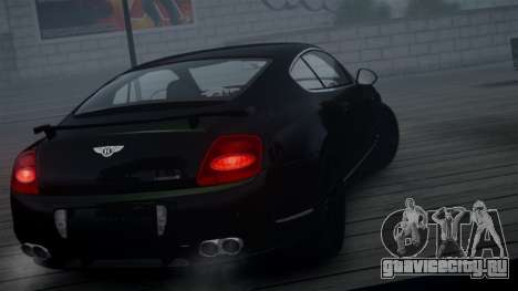 Bentley Continental GT Hamann Imperator для GTA 4 вид сзади