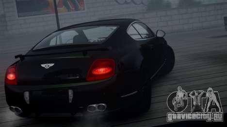 Bentley Continental GT Hamann Imperator для GTA 4 вид сзади