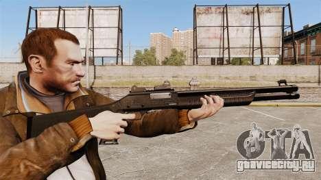 Тактический дробовик Fabarm SDASS Pro Forces v4 для GTA 4