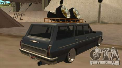 New Peren Hellaflush для GTA San Andreas вид справа