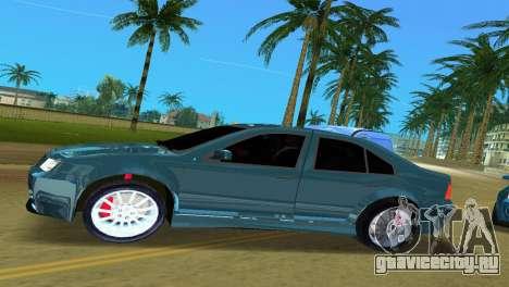 Volkswagen Bora для GTA Vice City вид слева