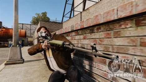 Снайперская винтовка Драгунова v3 для GTA 4 третий скриншот