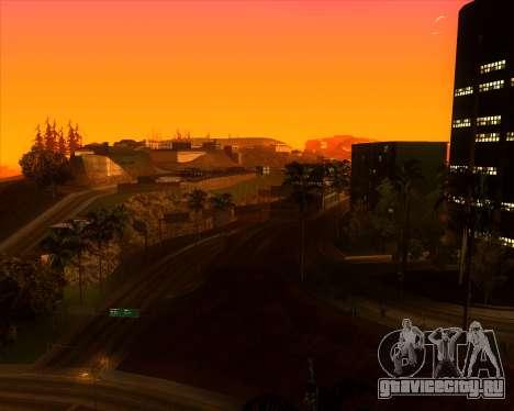 ENBSeries by MatB1200 для GTA San Andreas четвёртый скриншот
