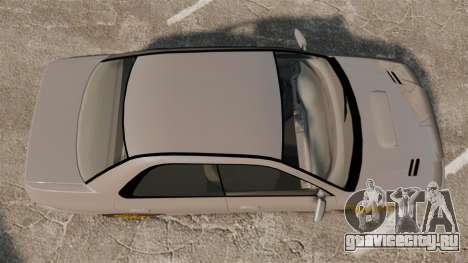 Subaru Impreza WRX STI 1999 [Final] для GTA 4 вид справа