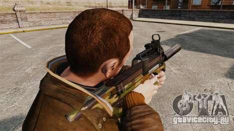 Бельгийский пистолет-пулемёт FN P90 v5 для GTA 4 второй скриншот