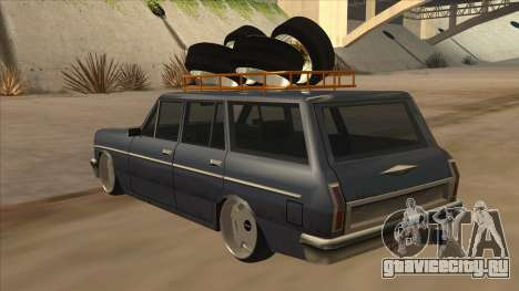 New Peren Hellaflush для GTA San Andreas вид сзади