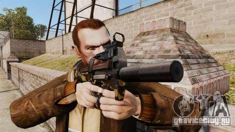 Бельгийский пистолет-пулемёт FN P90 v6 для GTA 4 третий скриншот