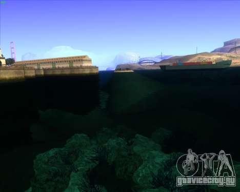 ENBSeries by MatB1200 для GTA San Andreas третий скриншот