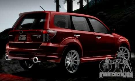 Subaru Forester RRT Sport 2008 v2.0 для GTA San Andreas вид слева