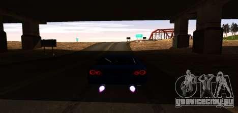 ENB Graphic Mod для GTA San Andreas шестой скриншот