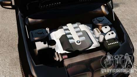 BMW X5 4.8iS v1 для GTA 4 вид изнутри