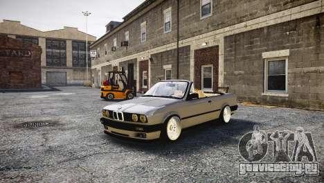 BMW M3 E30 Cabrio Stanced для GTA 4