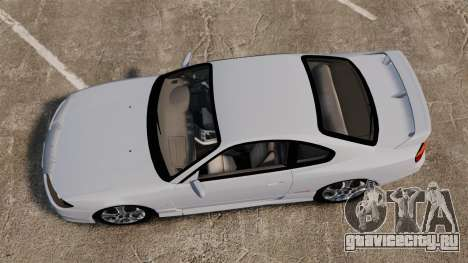 Nissan Silvia S15 v1 для GTA 4 вид справа