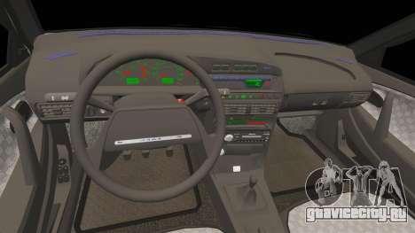ВАЗ-2114 Бункер для GTA 4 вид сверху