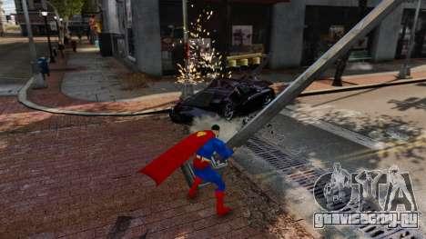 Скрипт Супермэн для GTA 4 шестой скриншот