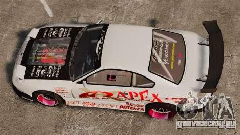 Nissan S330SX GT для GTA 4 вид справа