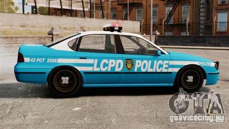LCPD Police Patrol для GTA 4 вид слева