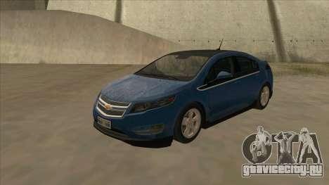 Chevrolet Volt 2011 [ImVehFt] v1.0 для GTA San Andreas