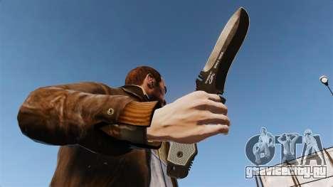 Тактический нож v5 для GTA 4 третий скриншот